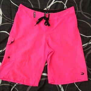 Neon Pink Bathing Suit